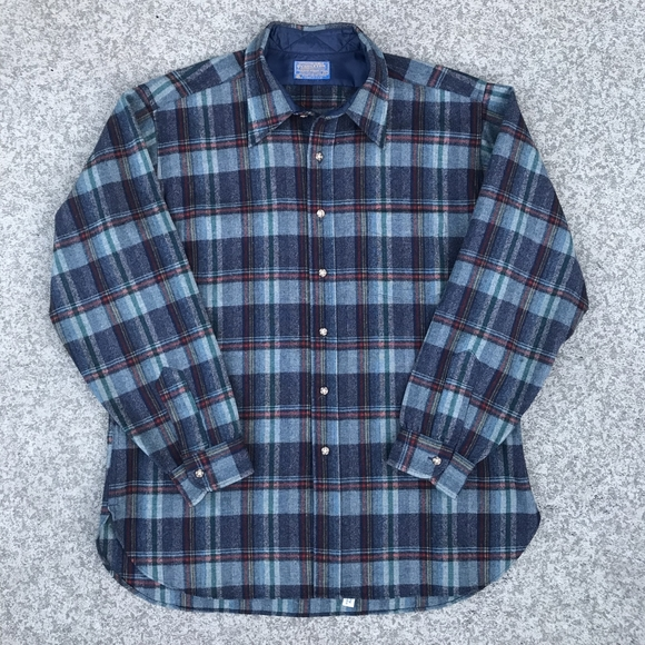 Pendleton Other - Pendleton 1990's Wool Flannel Shirt